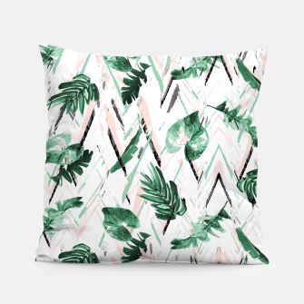 Thumbnail image of Abstract nature leaf Almohada, Live Heroes