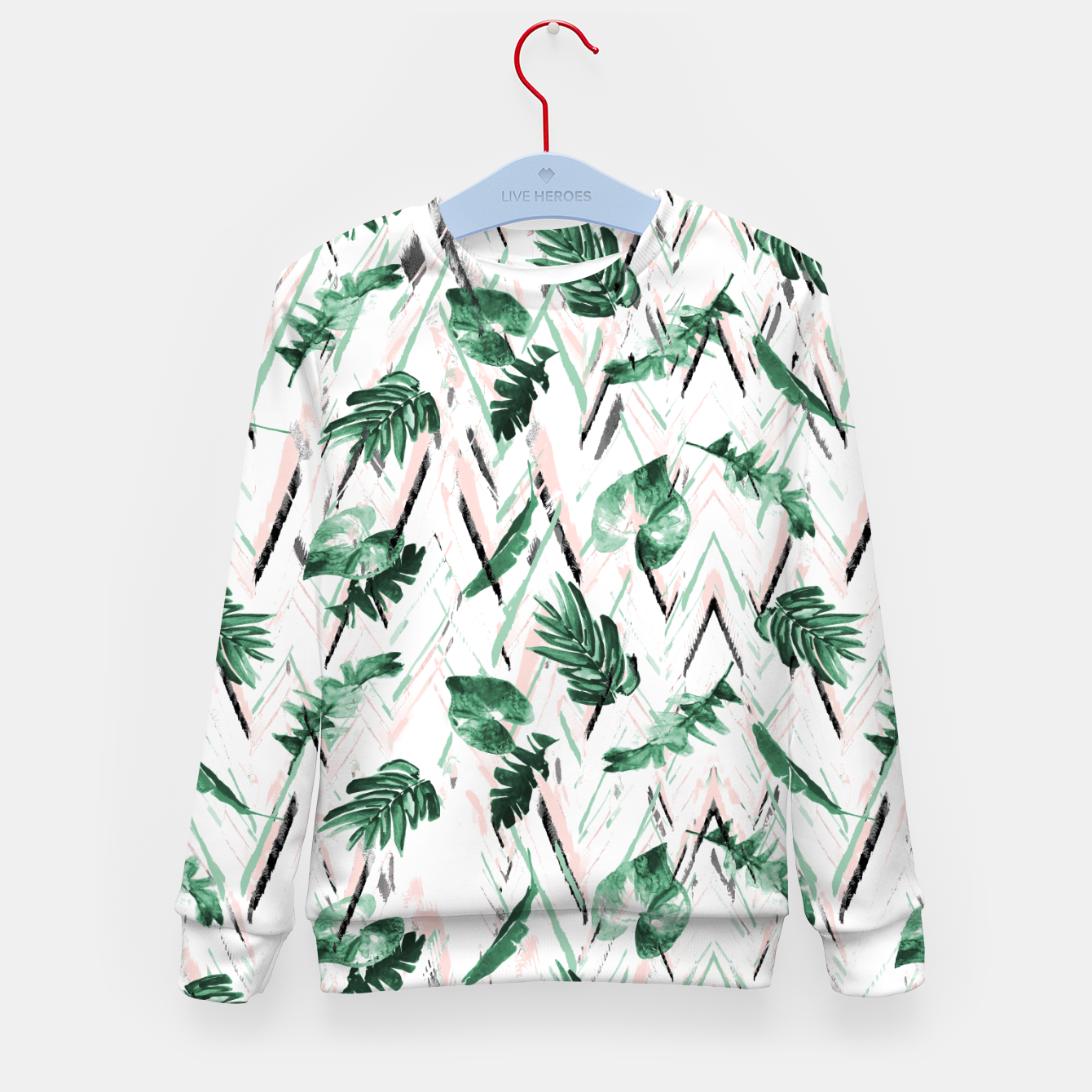 Image of Abstract nature leaf Sudadera para niños - Live Heroes
