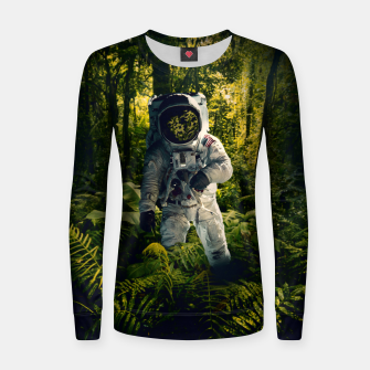 Thumbnail image of In The Jungle Women sweater, Live Heroes
