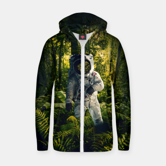 Thumbnail image of In The Jungle Zip up hoodie, Live Heroes