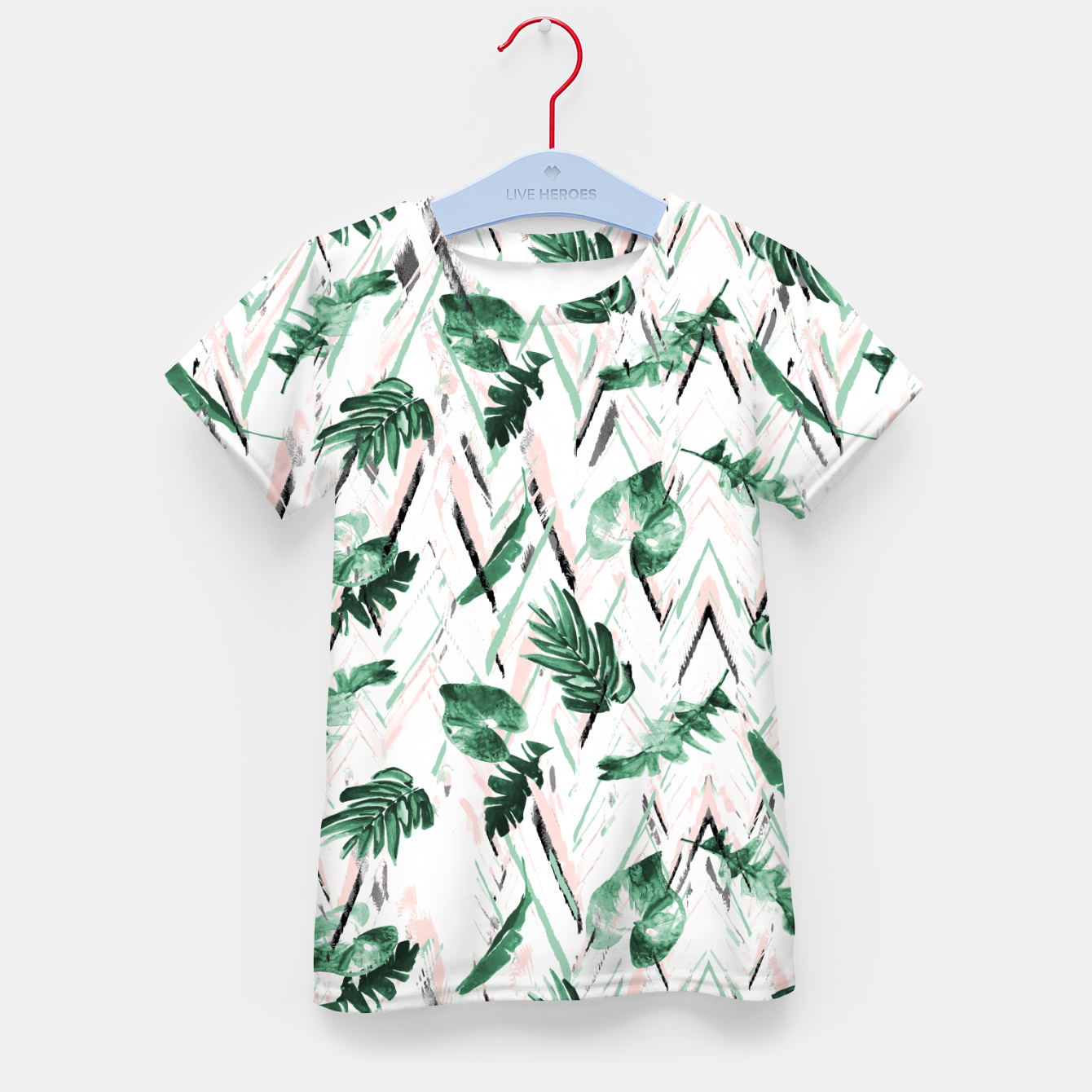 Image of Abstract nature leaf Camiseta para niños - Live Heroes