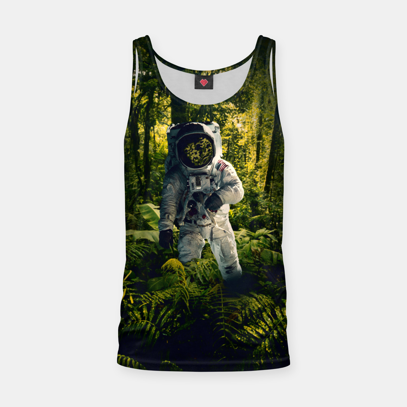 Image of In The Jungle Tank Top - Live Heroes