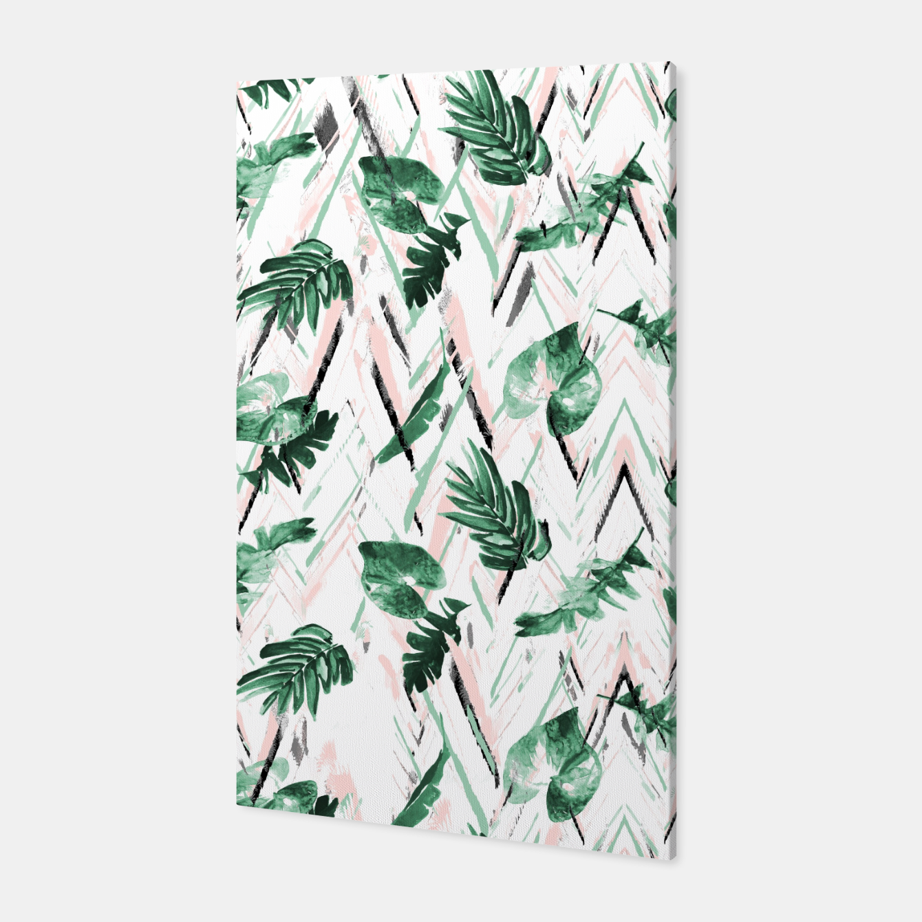 Foto Abstract nature leaf Canvas - Live Heroes