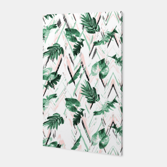 Miniature de image de Abstract nature leaf Canvas, Live Heroes
