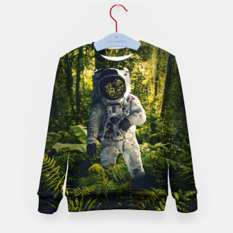 Thumbnail image of In The Jungle Kid's sweater, Live Heroes