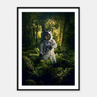 Thumbnail image of In The Jungle Framed poster, Live Heroes