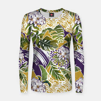 Thumbnail image of Nature jungle forms 2 Sudadera para mujeres, Live Heroes