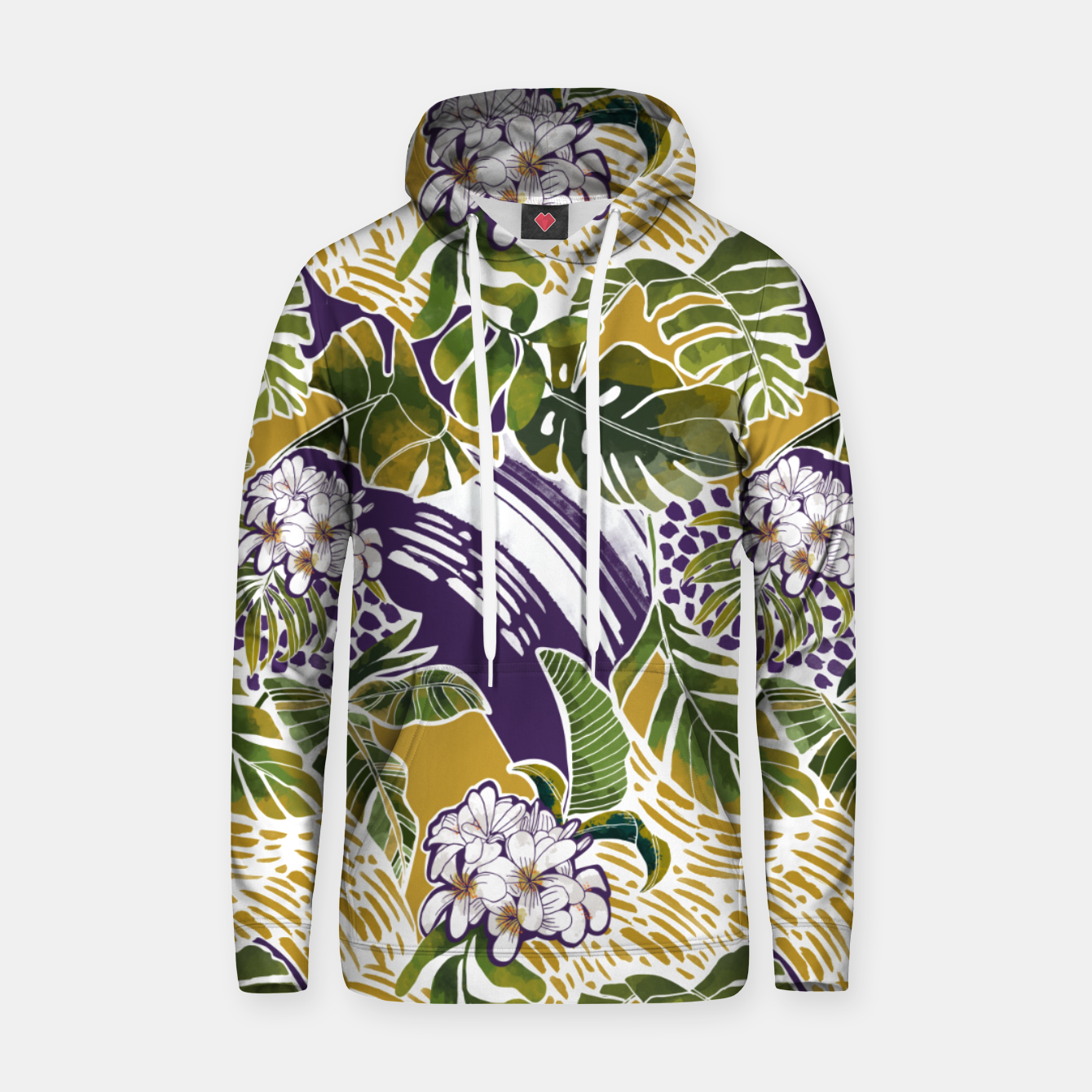 Foto Nature jungle forms 2 Sudadera con capucha - Live Heroes