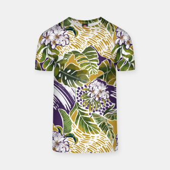 Nature jungle forms 2 Camiseta Bild der Miniatur