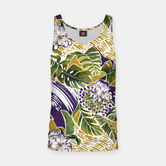 Nature jungle forms 2 Camiseta de tirantes Bild der Miniatur