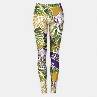 Miniature de image de Nature jungle forms 2 Leggings, Live Heroes