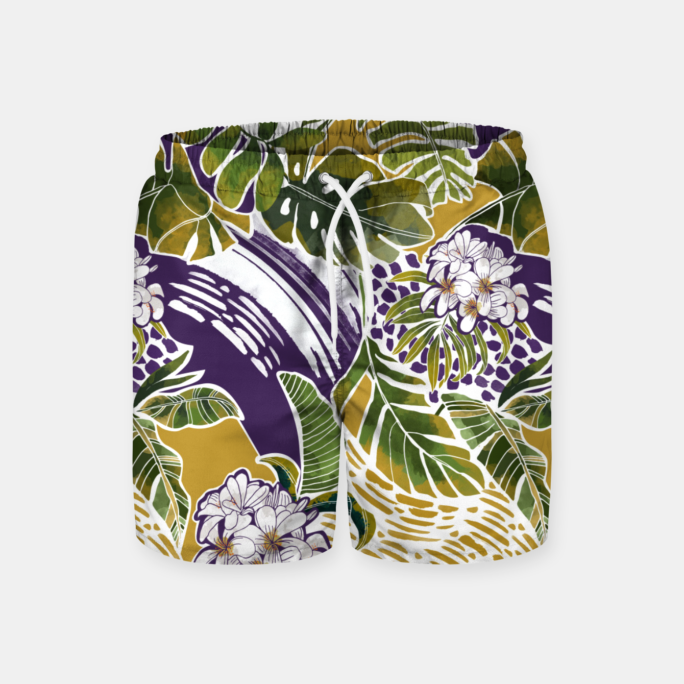 Foto Nature jungle forms 2 Pantalones de baño - Live Heroes