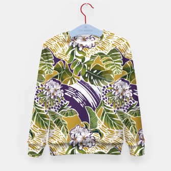Thumbnail image of Nature jungle forms 2 Sudadera para niños, Live Heroes