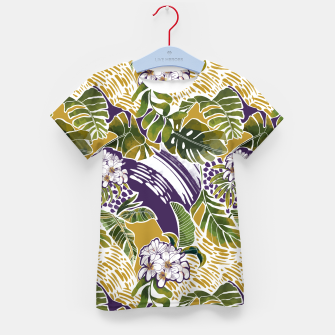 Thumbnail image of Nature jungle forms 2 Camiseta para niños, Live Heroes