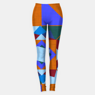 Win Rose Orange Leggings thumbnail image