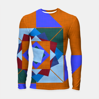 Win Rose Orange Longsleeve rashguard  thumbnail image