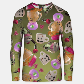 Thumbnail image of Kitchen Friends Unisex sweater, Live Heroes