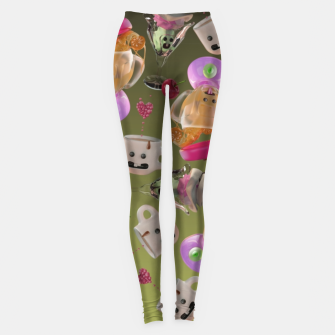 Thumbnail image of Kitchen Friends Leggings, Live Heroes