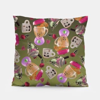 Thumbnail image of Kitchen Friends Pillow, Live Heroes