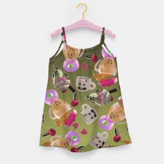 Thumbnail image of Kitchen Friends Girl's dress, Live Heroes