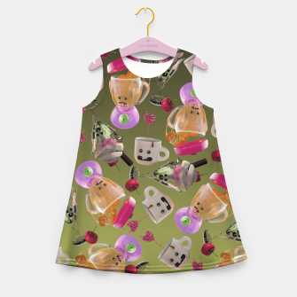 Thumbnail image of Kitchen Friends Girl's summer dress, Live Heroes