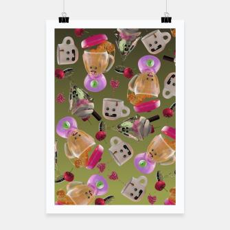 Thumbnail image of Kitchen Friends Poster, Live Heroes