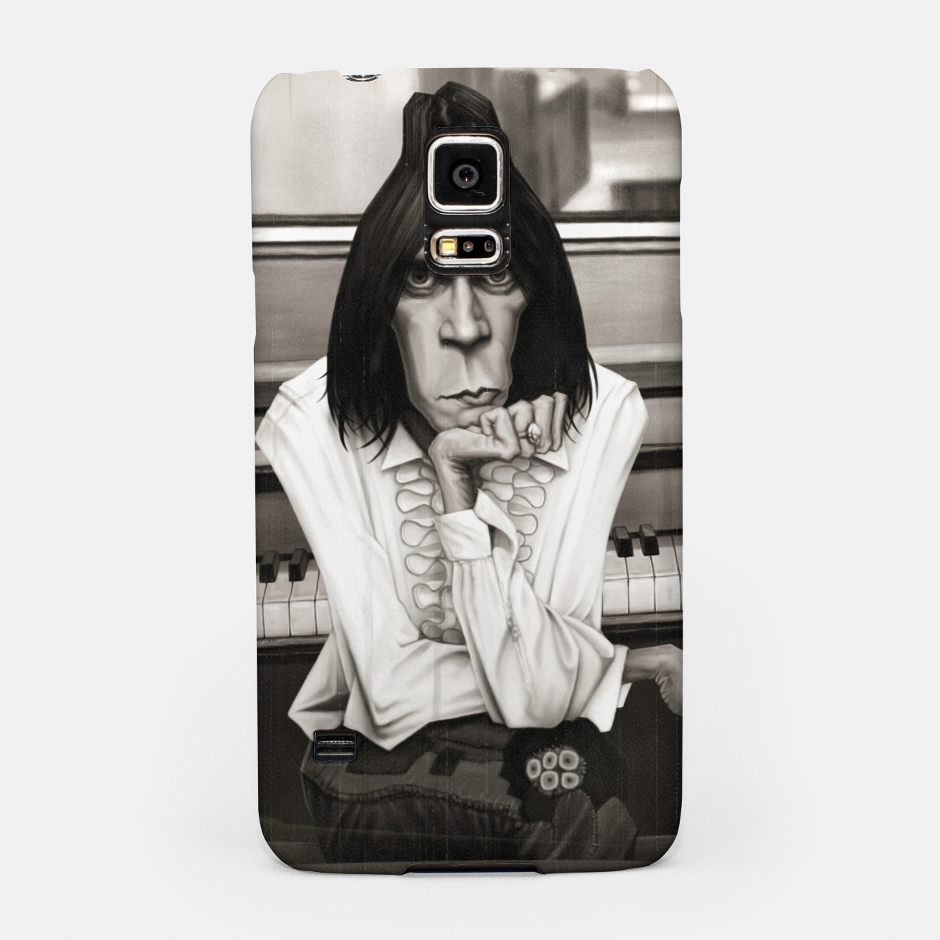 Image of Neil Young Piano Samsung Case - Live Heroes