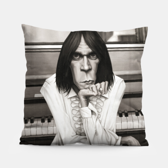 Thumbnail image of Neil Young Piano Pillow, Live Heroes