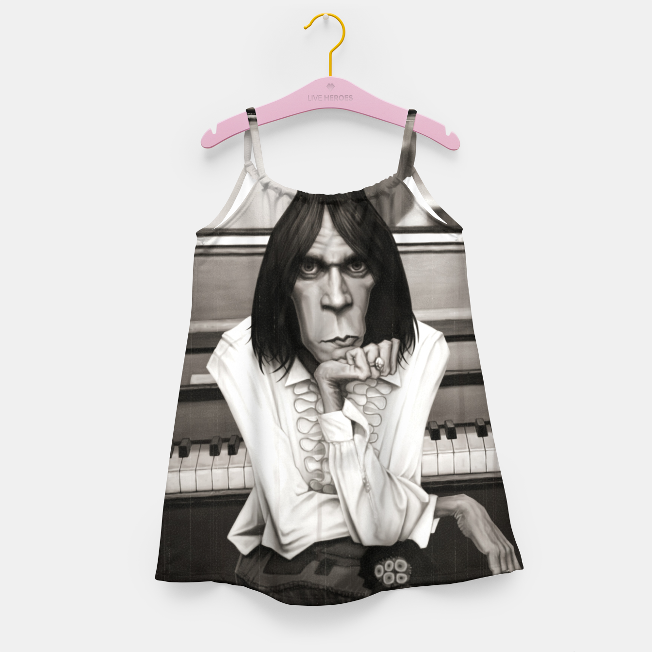 Image of Neil Young Piano Girl's dress - Live Heroes
