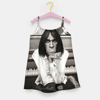 Thumbnail image of Neil Young Piano Girl's dress, Live Heroes