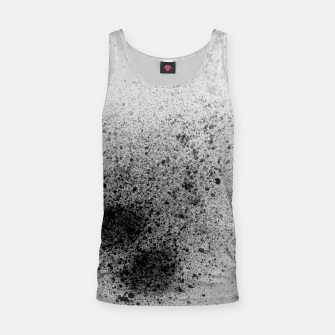 Thumbnail image of Grey Black and White Paint Splatter Tank Top, Live Heroes
