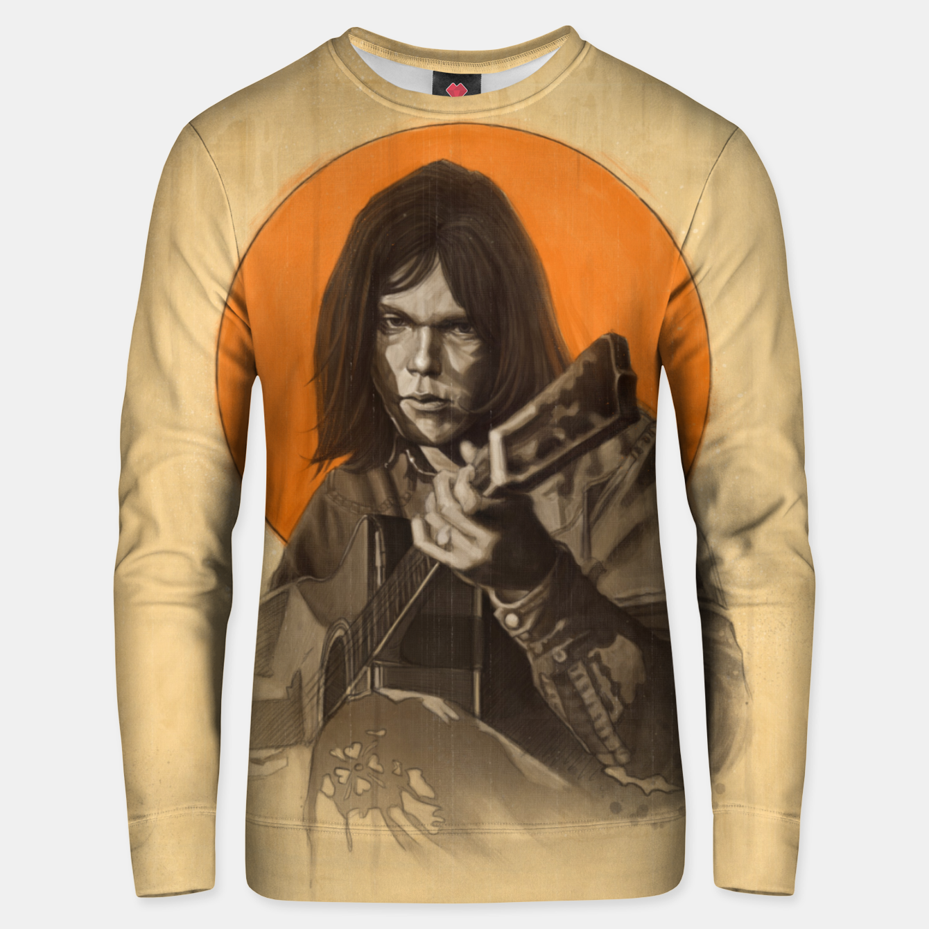 Image of Neil Young Harvest Unisex sweater - Live Heroes
