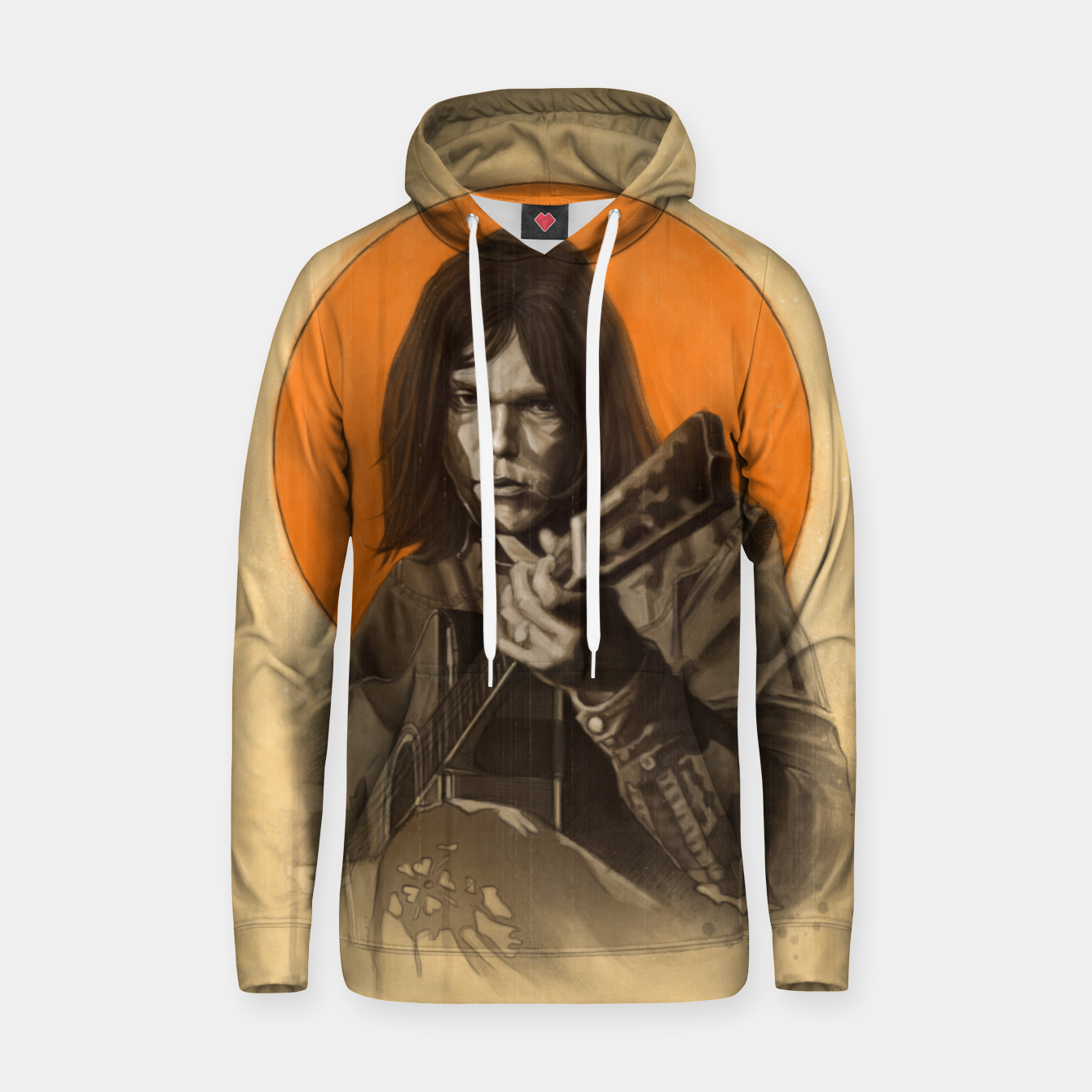 Image of Neil Young Harvest Hoodie - Live Heroes