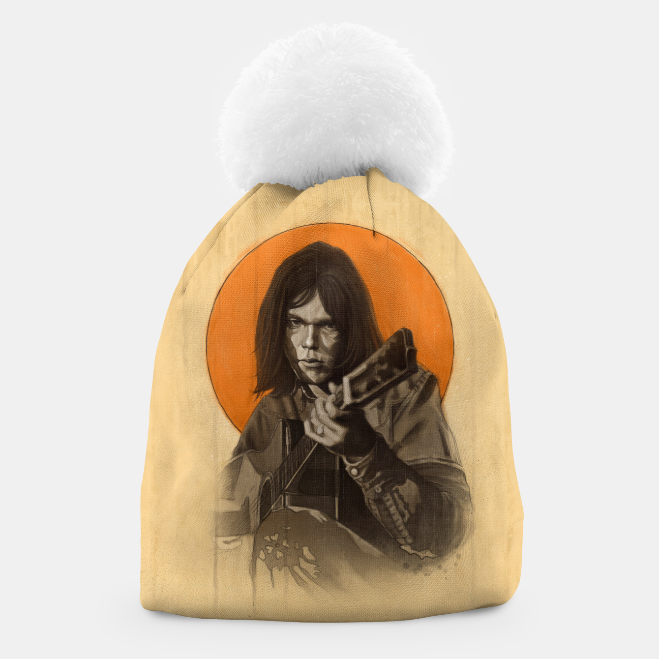 Image of Neil Young Harvest Beanie - Live Heroes