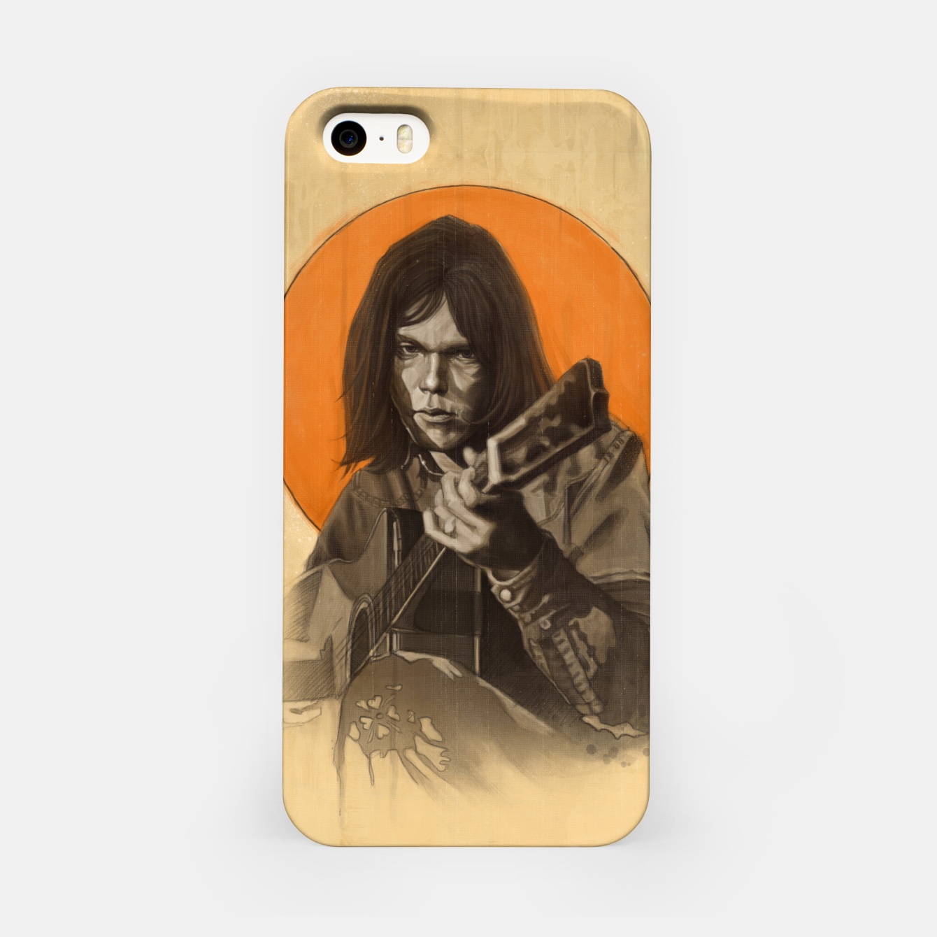 Image of Neil Young Harvest iPhone Case - Live Heroes