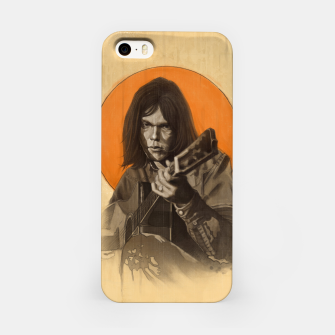 Miniatur Neil Young Harvest iPhone Case, Live Heroes