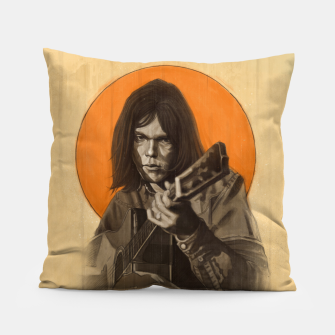 Thumbnail image of Neil Young Harvest Pillow, Live Heroes