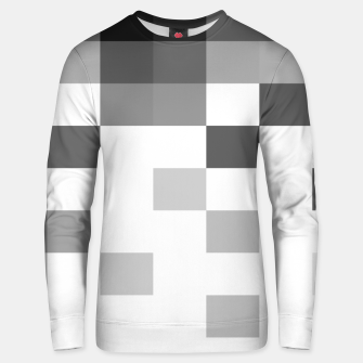 Thumbnail image of Pixels in Grey Unisex sweater, Live Heroes