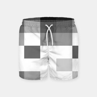 Thumbnail image of Pixels in Grey Swim Shorts, Live Heroes