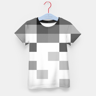 Thumbnail image of Pixels in Grey Kid's t-shirt, Live Heroes