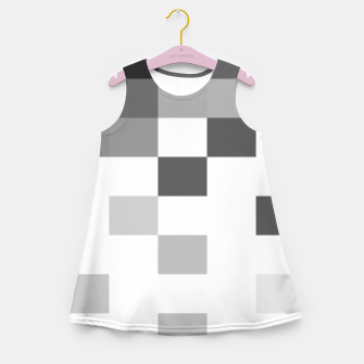 Thumbnail image of Pixels in Grey Girl's summer dress, Live Heroes