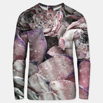 Thumbnail image of Succulent Closeup In Pink Unisex sweater, Live Heroes