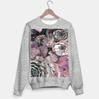 Thumbnail image of Succulent Closeup In Pink Sweater regular, Live Heroes