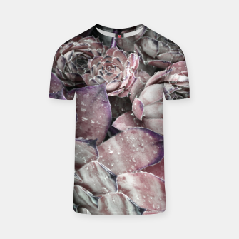 Thumbnail image of Succulent Closeup In Pink T-shirt, Live Heroes