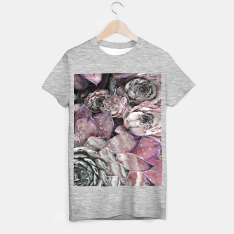 Thumbnail image of Succulent Closeup In Pink T-shirt regular, Live Heroes