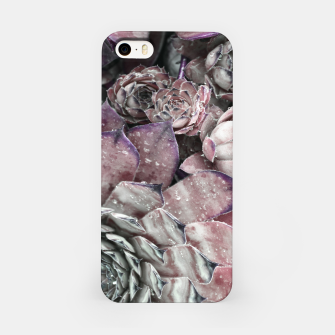 Thumbnail image of Succulent Closeup In Pink iPhone Case, Live Heroes