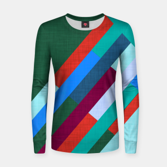 Thumbnail image of Meridian Green Women sweater, Live Heroes