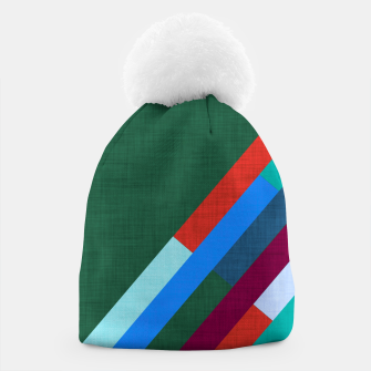 Thumbnail image of Meridian Green Beanie, Live Heroes