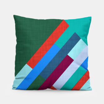 Thumbnail image of Meridian Green Pillow, Live Heroes