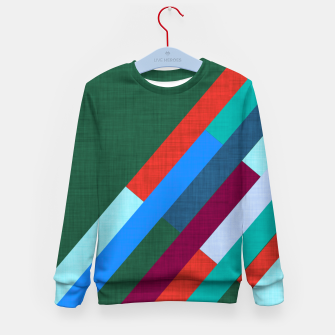 Thumbnail image of Meridian Green Kid's sweater, Live Heroes